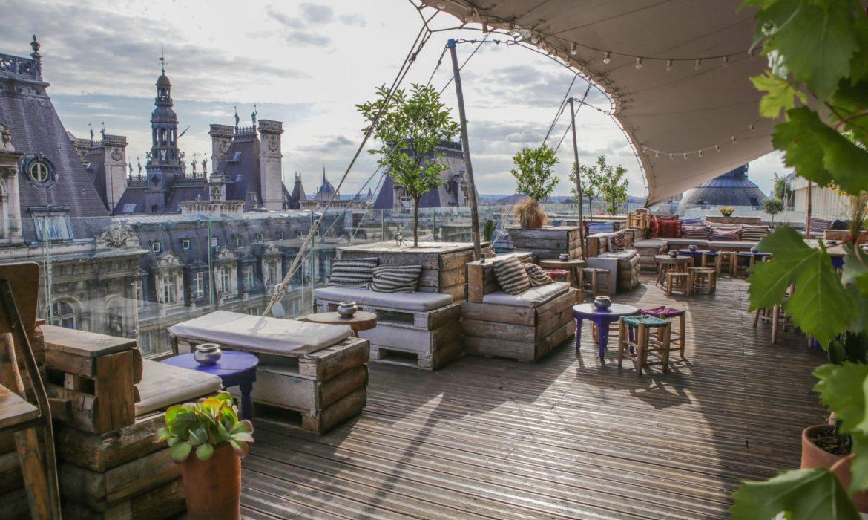 Les meilleurs rooftops de la capitale pour prendre un verre.