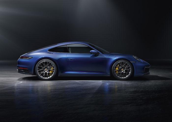 La présentation de la nouvelle Porsche 911